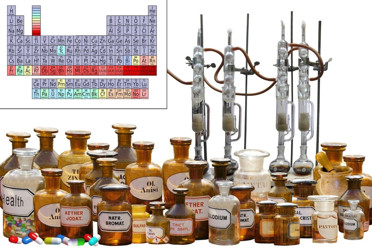 Der Chemiebaukasten
