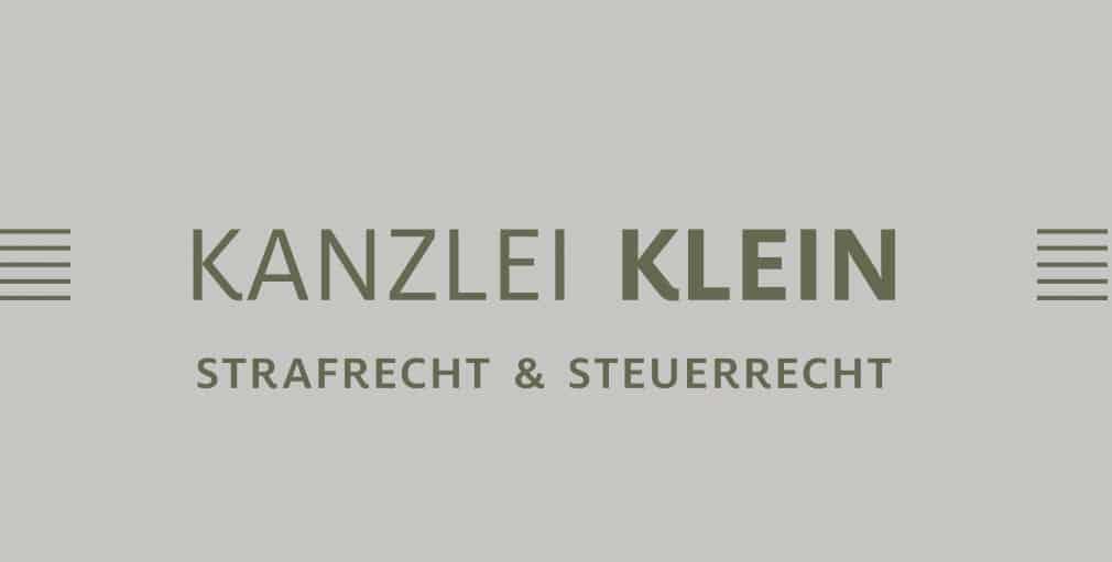 KANZLEI KLEIN § Strafrecht und Steuerrecht Logo